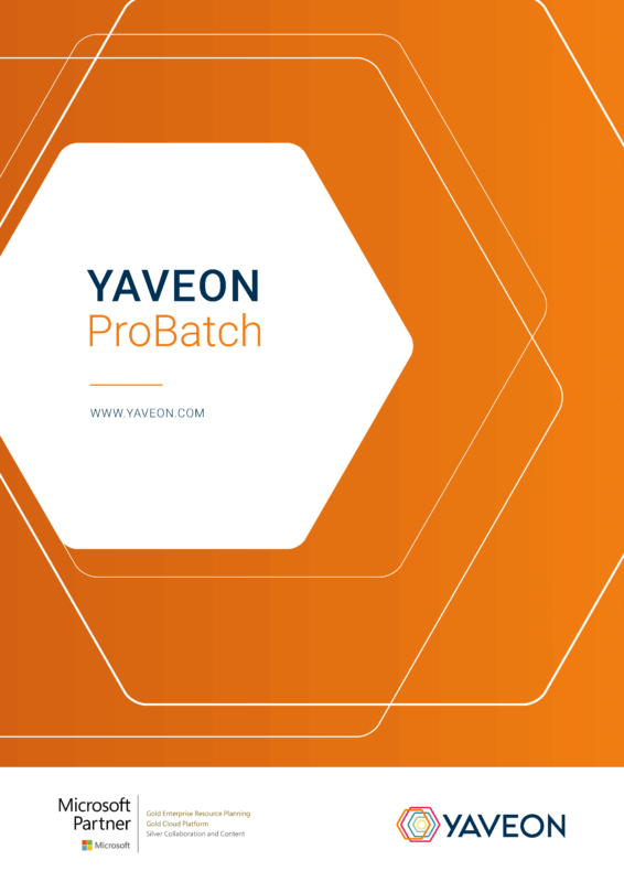 Preview ERP ProBatch Factsheet