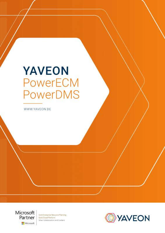 Vorschaubild PowerECM Power DMS Factsheet