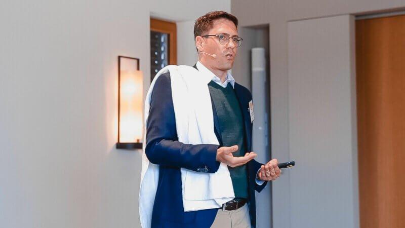 Andreas Dorsch am YAVEON Kundentag