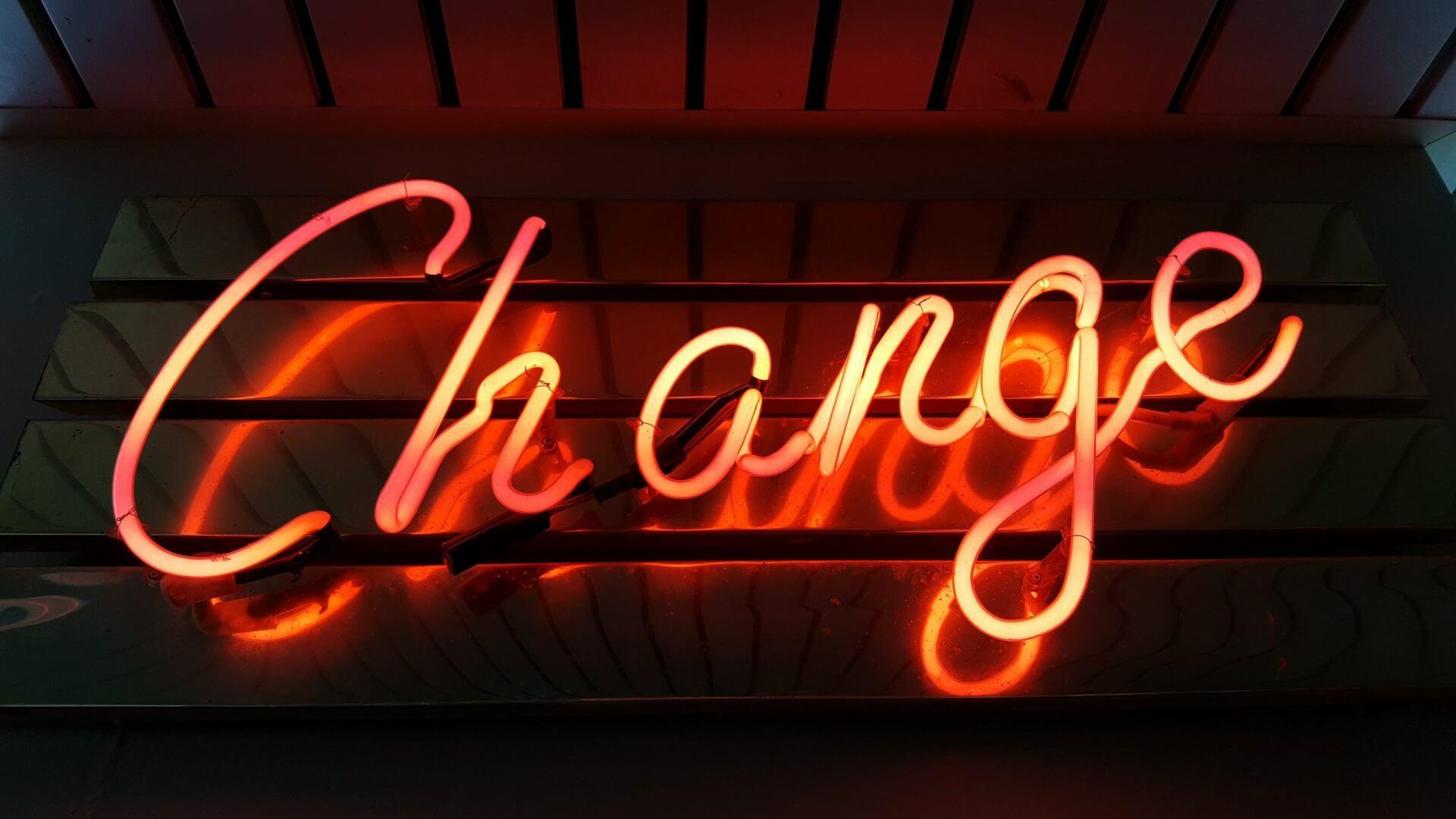 Ein Bild, das den Wandel in der Welt der Digitalen Transformationenzeigt.