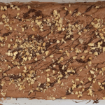 Form mit Brownies