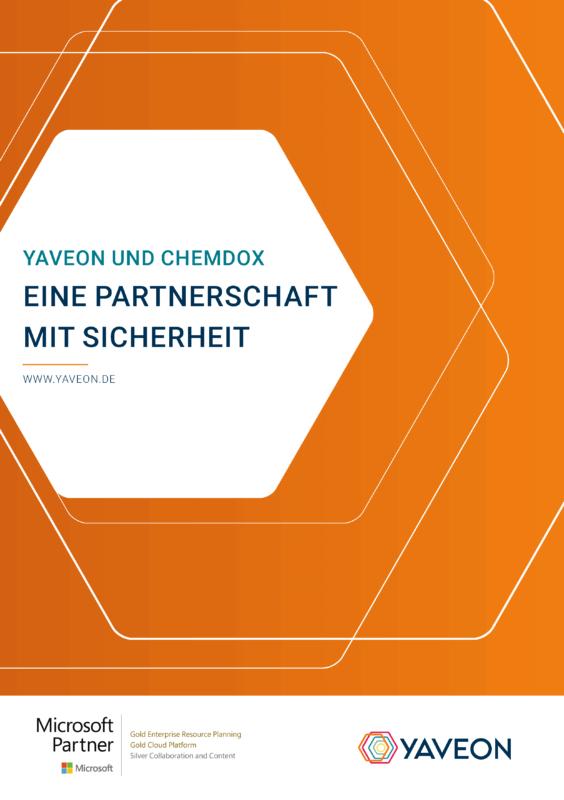 Vorschaubild Gefahrstoffmanagement YAVEON Und Chemdox