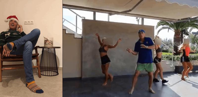 Tanzender YAVEON Mitarbeiter