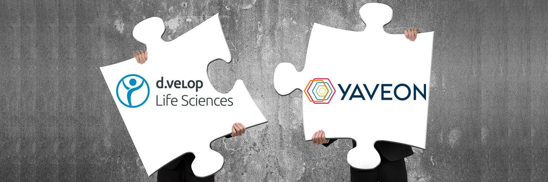 YAVEON und d.velop Life Sciences