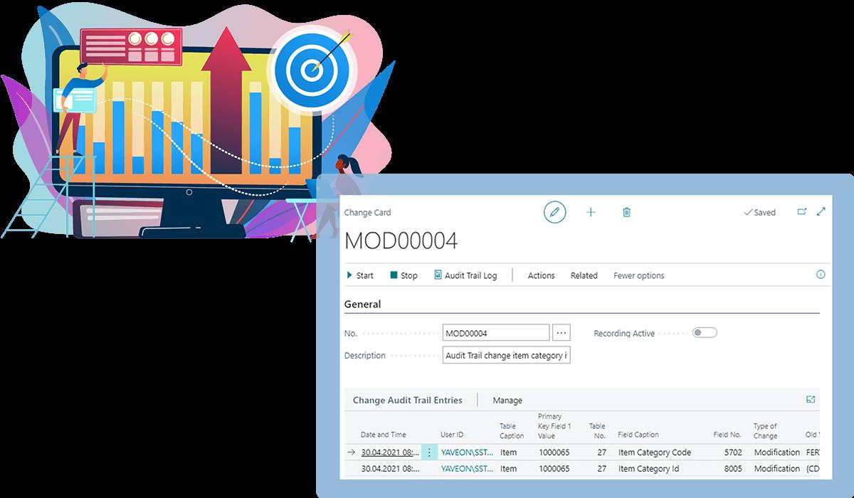 Screenshot Function Audit Trail