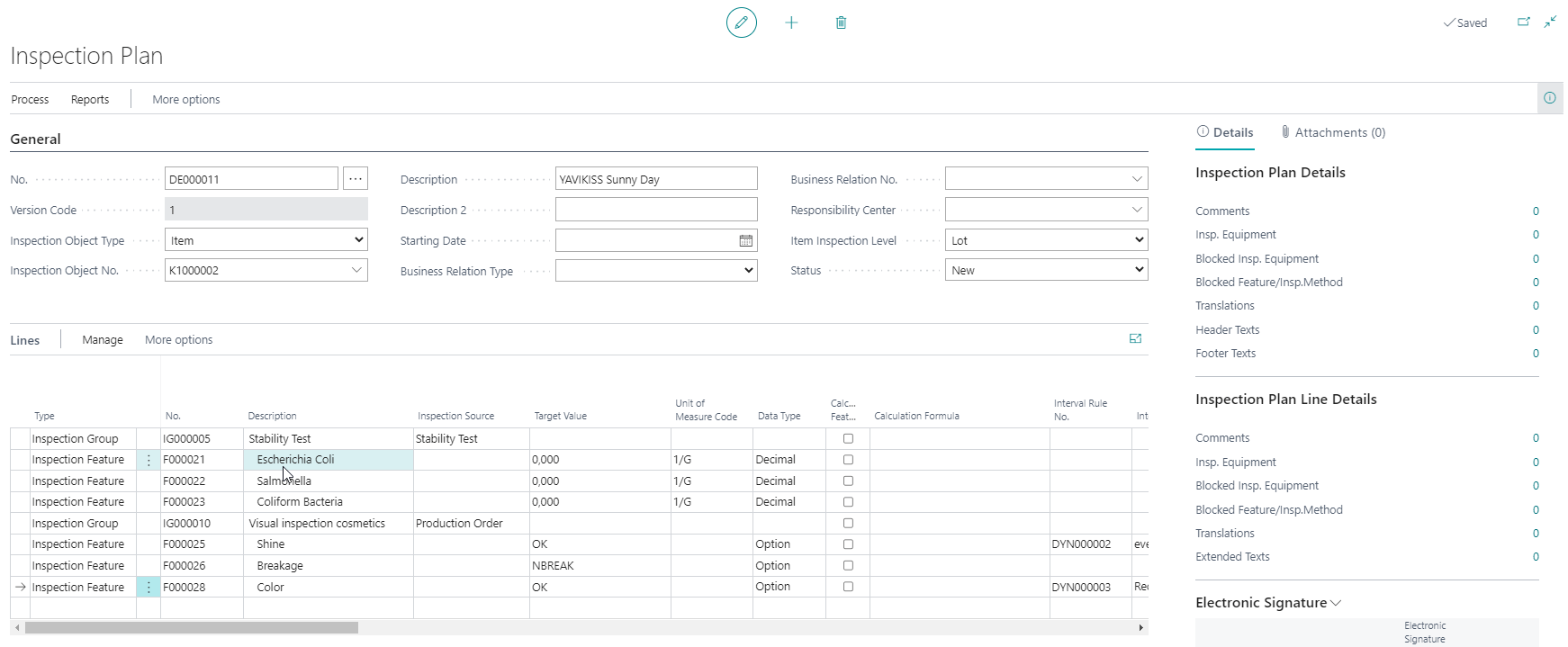 Detailscreenshot Function Quality Control Cosmetics