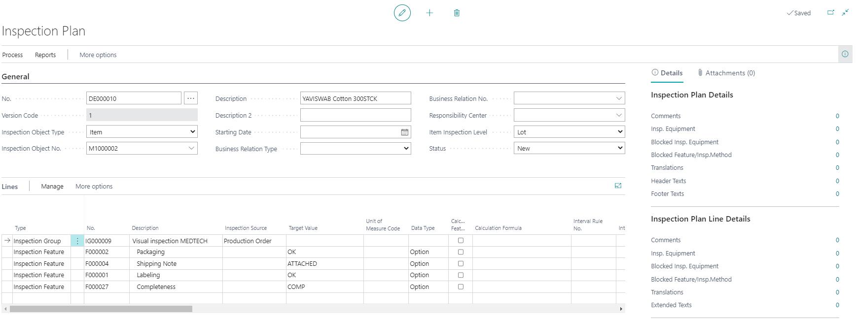 Detailscreenshot Function Quality Control MedTec