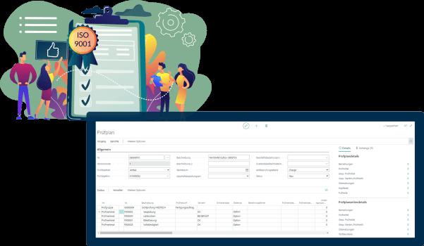Screenshot Funktion Qualitätskontrolle MedTec