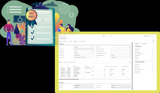 Screenshot Funktion Qualitätskontrolle Pharma